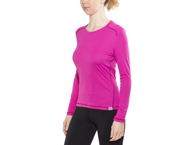 Kaikkialla Tiina Pitkähihainen paita Naiset, pink